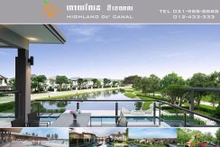 The Highland De Canal project Cambodia