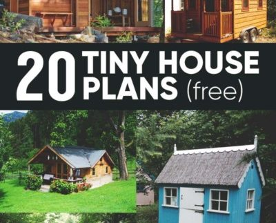 Free DIY Tiny House Plans to Help You Live the Tiny Happy Life