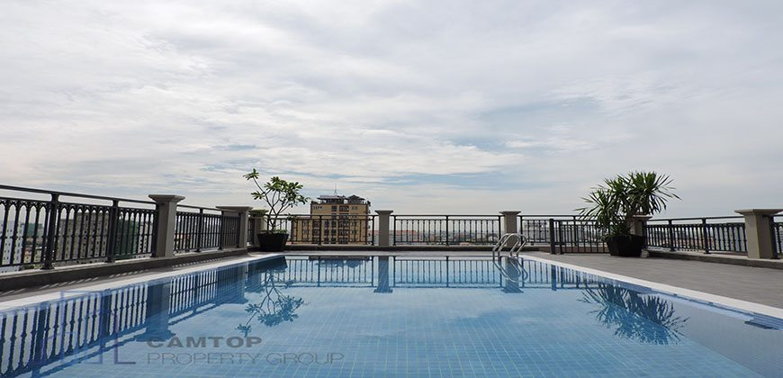 Western style apartment with swimming pool in Toul Tompung – 00941