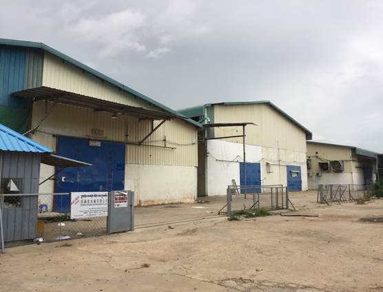 Factory / Warehouse For Rent Near Pochentong International Airport Phnom Penh