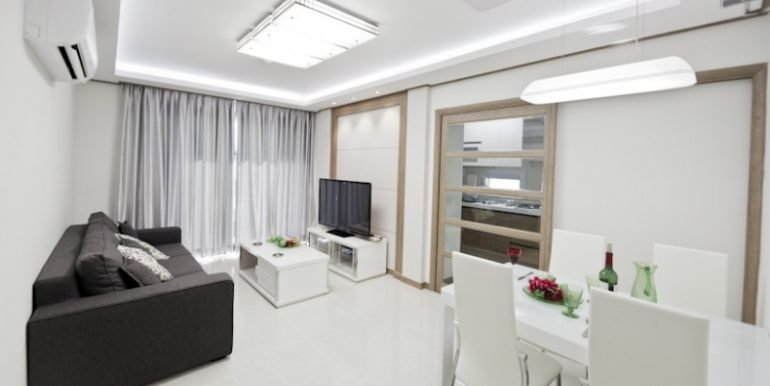 1BR-Dining and Living